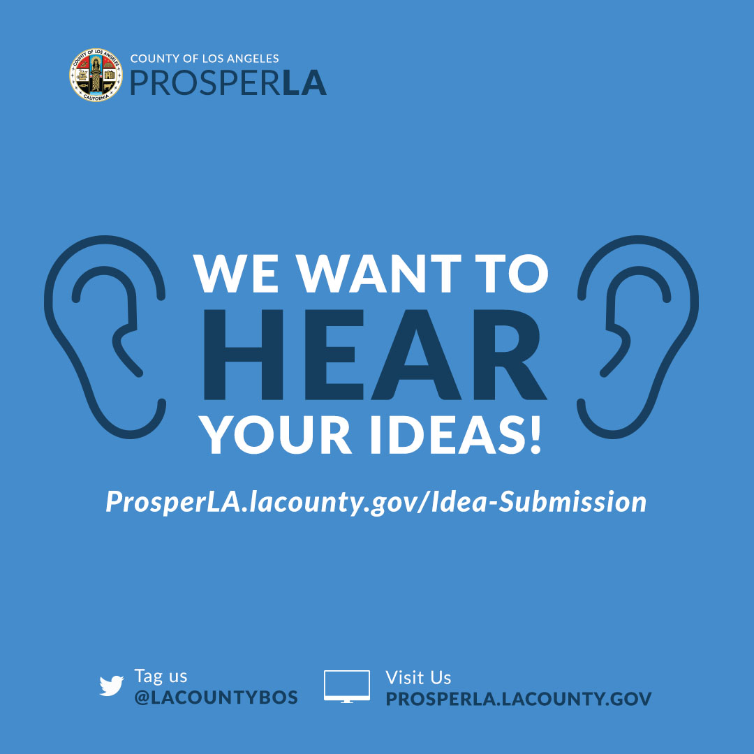 The County of Los Angeles is seeking innovative ideas!