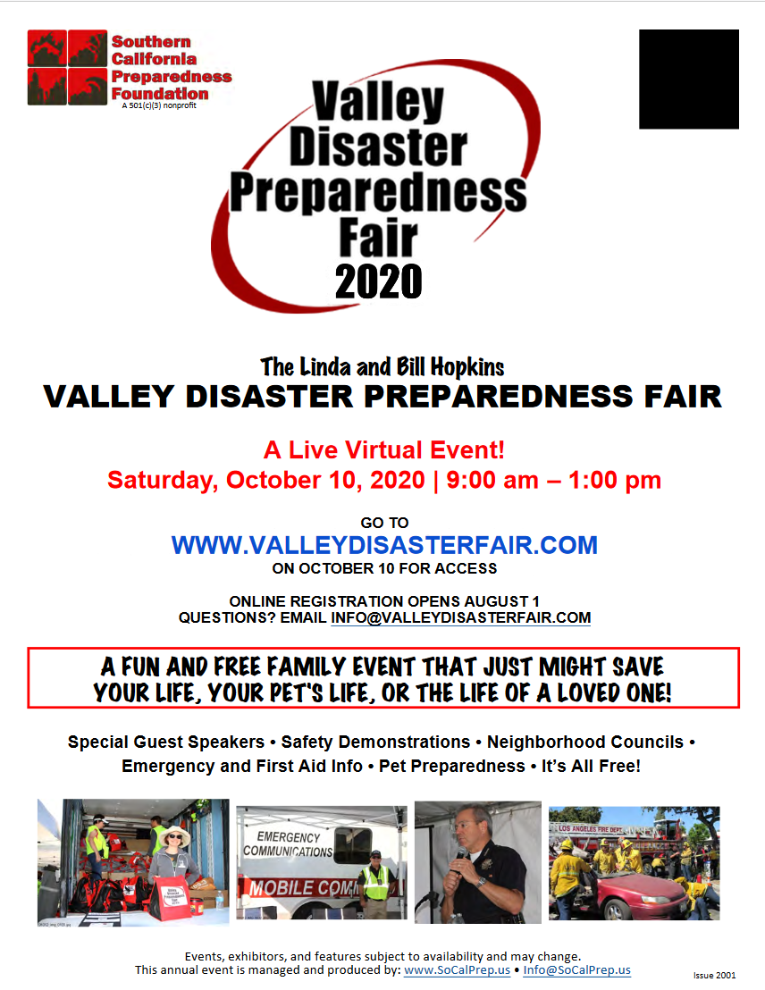 Valley Disaster Preparedness Fair is Saturday 10/10