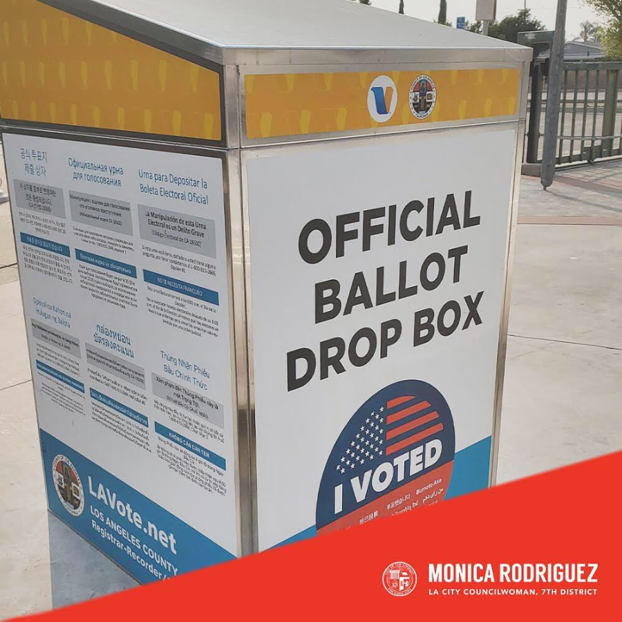Official Ballot Drop Boxes Located at CD7 Libraries