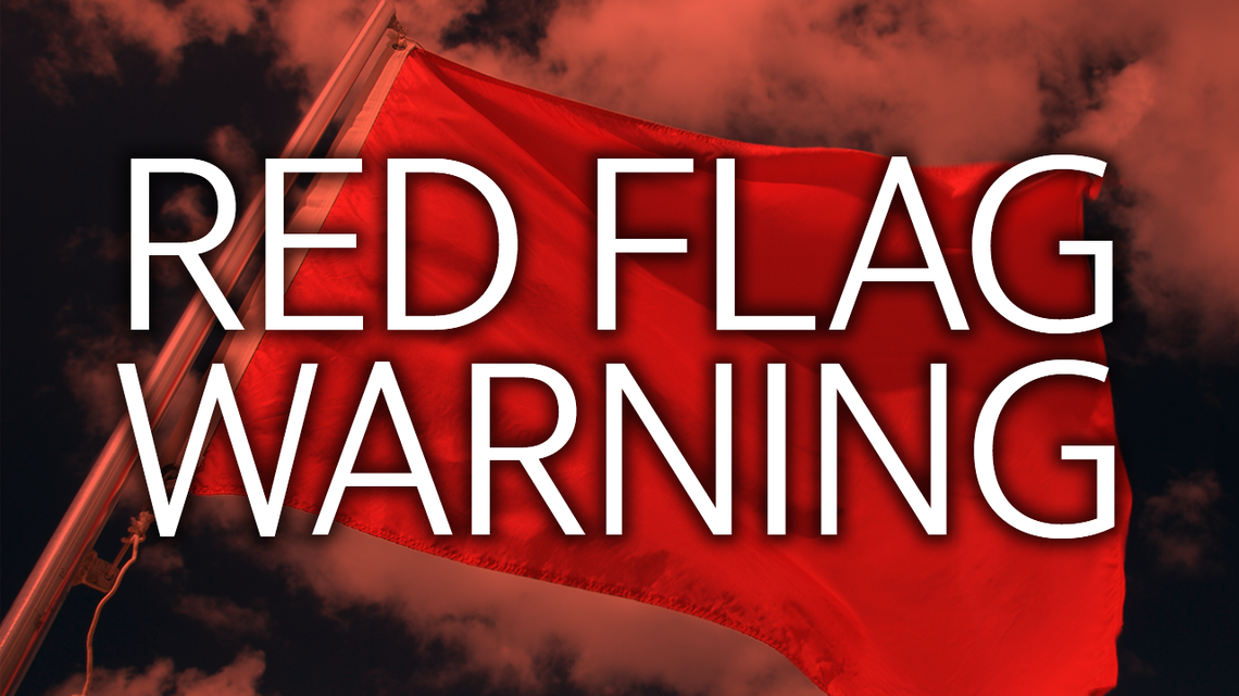 Red Flag Warning Now In Effect