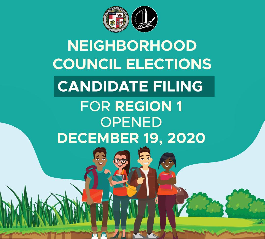 Become a  Youth Representative on your Neighborhood Council!