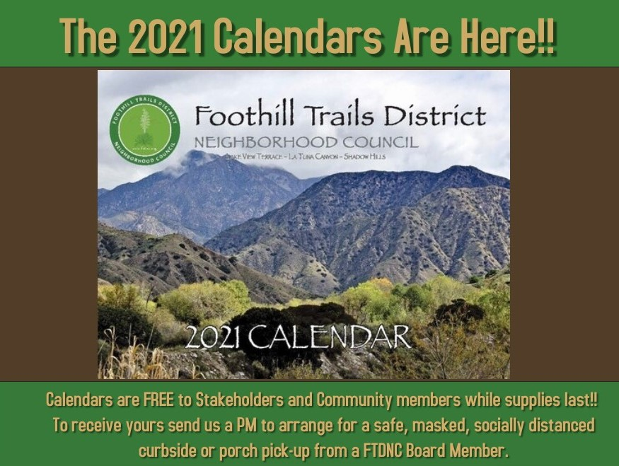The 2021 Calendars Are Here!!