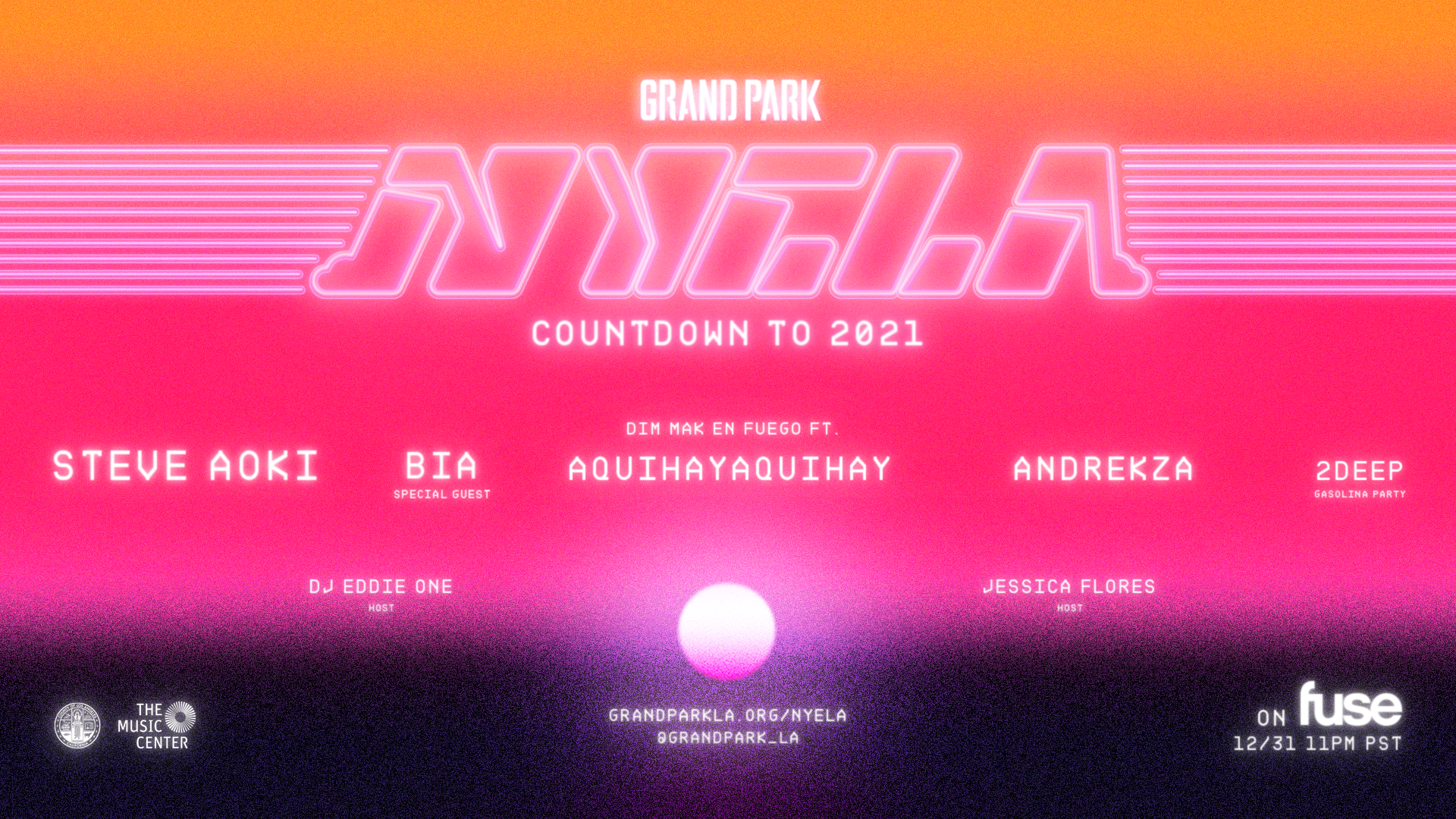 Count down to 2021 with Grand Park's NYELA 2020!