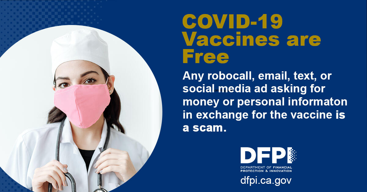 Watch Out for COVID-19 Vaccine Scams!